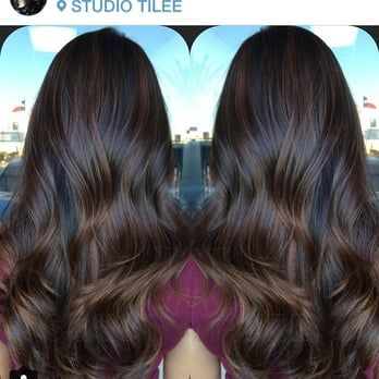 I love this rich balayage highlight for those who want a subtle change! - Yelp