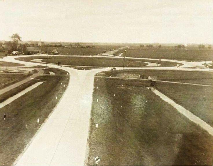 Rotonde Heerenveen rond 1934