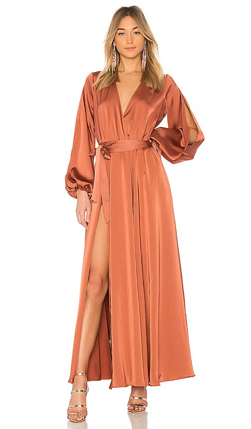 what to wear to a fall wedding split sleeves michael costello x