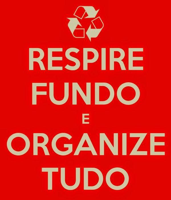 Organize pensamentos, ideias, próximos passos