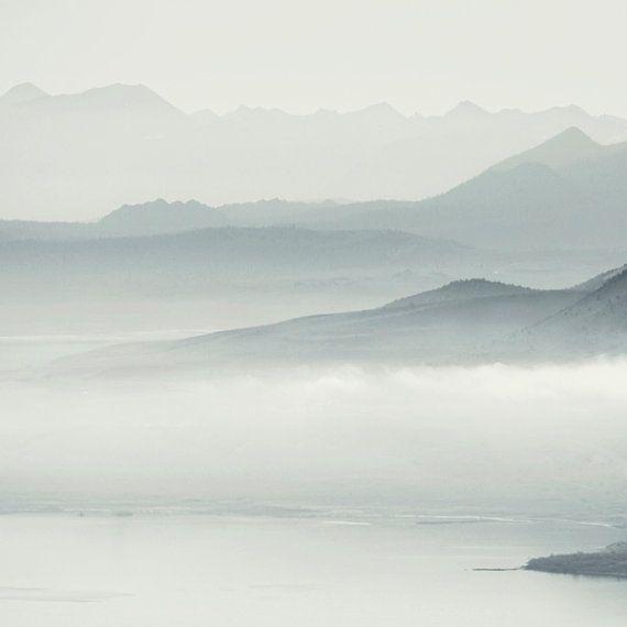 Mono Lake  - Minimalist Print
