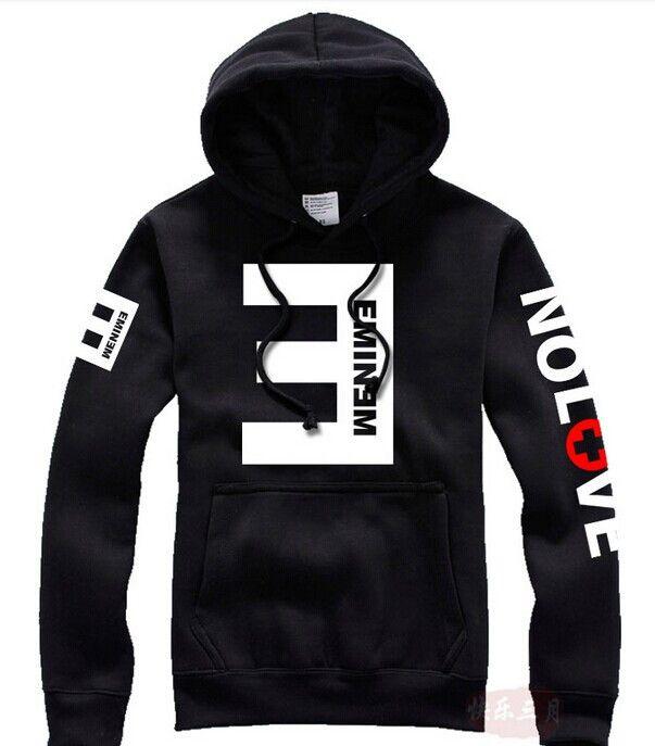 Barato 2015 inverno Men ' s de lã Hoodies Eminem impresso engrosse bordado camisola Men Sportswear vestuário de moda, Compro Qualidade Moletons diretamente de fornecedores da China: 2015 inverno dos homens do velo hoodies eminem Impresso Engrossar pulôver camisola Men Sportswear Moda Roupas