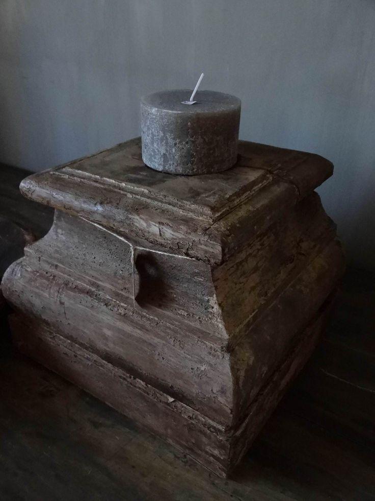 houten poer - sober en stoerwonen