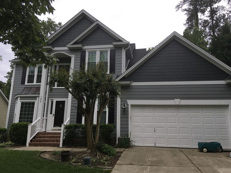 James Hardie Colorplus Siding And Trim Siding Color Gray