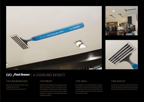 Park Avenue Shaving Razor: A cooling effect