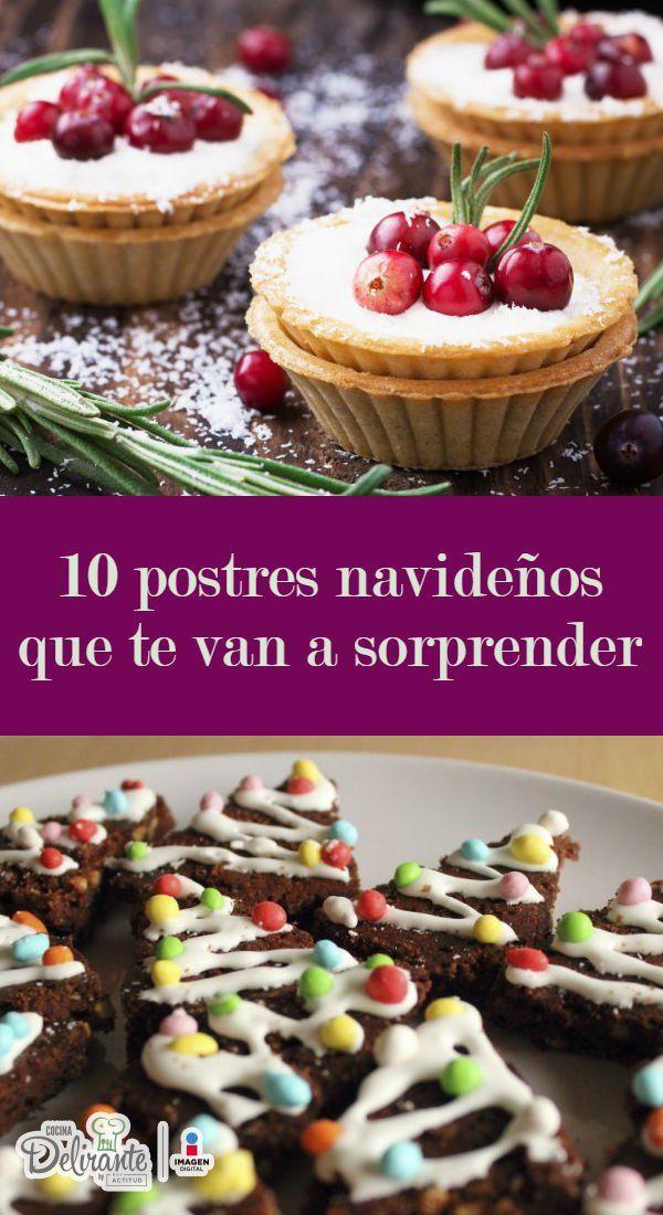 Estos delirios dulces no pueden faltar en tus fiestas de Navidad y Año Nuevo. Son deliciosos y lucen tan bien que no querrás comerlos, al menos antes de tomarles un par de fotos.Te pasamos las recetas:Brownies de chocolate en forma de arbolito de NavidadSólo necesitas cuatro ingredientes para preparar estas bellezas.