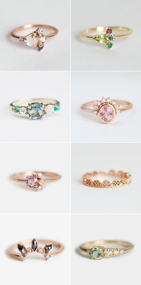 Gorgeous Alternative Engagement Rings