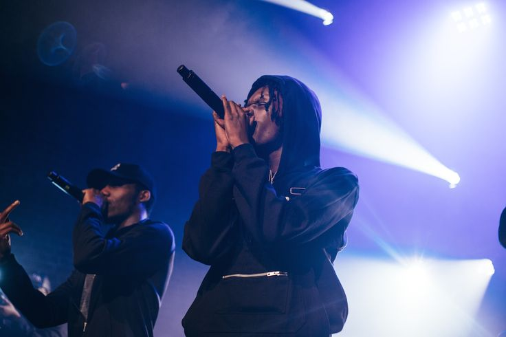 Section Boyz' Swift on stage.