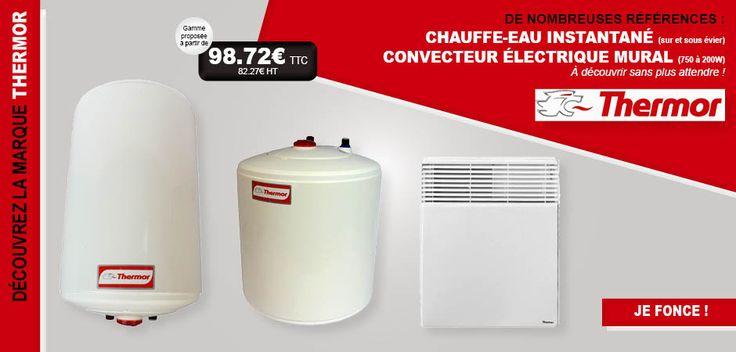 #lesfournituresdubatiment #LFDB #fournitures #matériel #habitat #bâtiment #plomberie #thermor #chauffeau #radiateur #convecteur #chauffage #eau #sanitaire