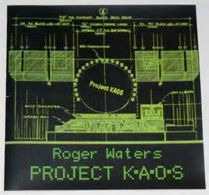 Roger waters live Radio KAOS Live 1987 TOUR PROGRAM