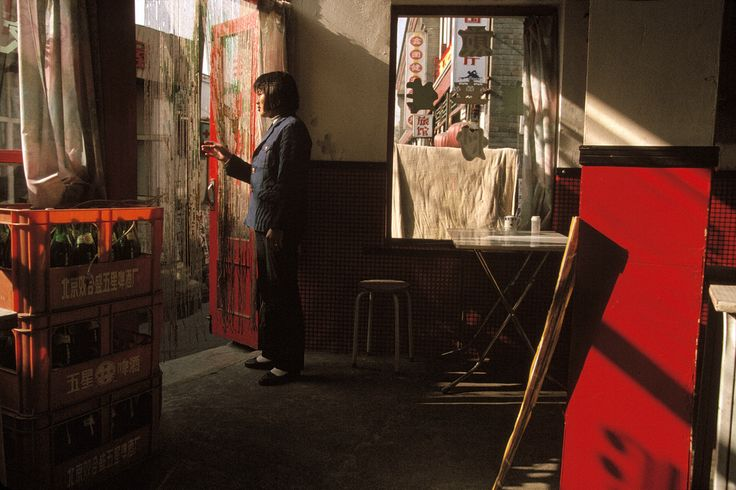 Gueorgui Pinkhassov. CHINA. Peking. Restaurant. 1993