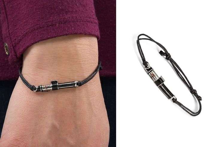 Star Wars Darth Vader Lightsaber Faux Leather Bracelet ⭐️The Kessel Runway ⭐️ Star Wars fashion ⭐️ Geek Fashion ⭐️ Star Wars Style ⭐️ Geek Chic ⭐️