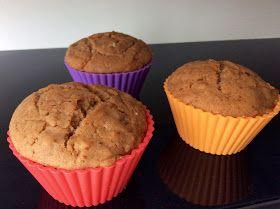 Perníkové špaldové muffiny s jablky