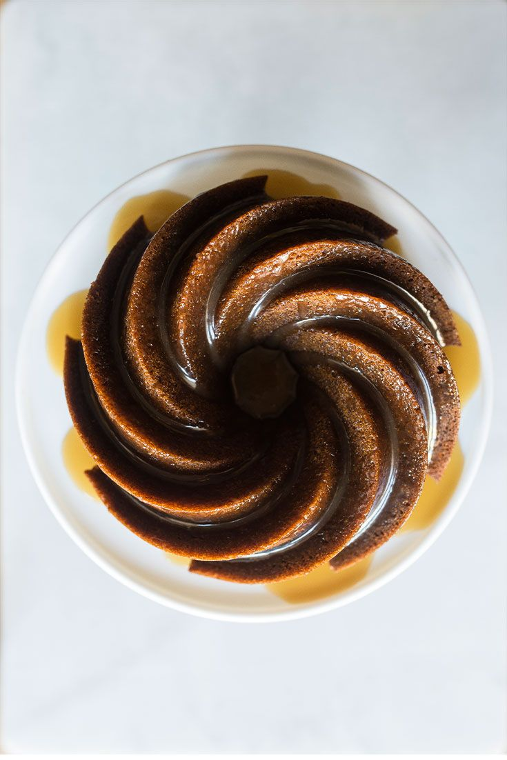 All hail Nigella Lawson for showing us how to whip up her foolproof five-spice ginger cake with decadent smoked salted caramel sauce.