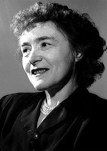 Gerty Theresa Cori (née Radnitz; August 15, 1896 – October 26, 1957) was an American biochemist  and 1947 Nobel laureate. She was the first American woman to win a Nobel Prize in science and the first woman to be awarded the Nobel Prize in Physiology or Medicine.