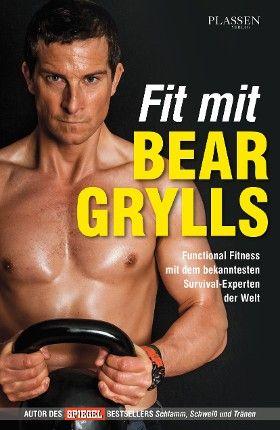 #Fit mit #Bear #Grylls - #Outdoor-#Ikone und #DMAX-#Star #Bear #Grylls stellt mit diesem #Handbuch einen neuen, funktionalen #Trainingsansatz vor. Mit diesem #Functional-#Fitness-#Programm bringt sich Ex-#SAS-#Elitesoldat und #Survival-Ikone #Bear #Grylls in #Topform.