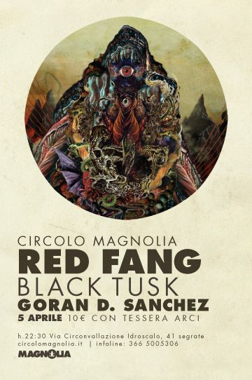 05/04/2012  Red Fang + Black Tusk + Goran D. Sanchez