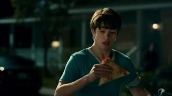 Sometimes you need to eat nachos on the go, like when her parents get home early. That's when you need the Grilled Stuffed Nacho from Taco Bell.- iSpot.tv