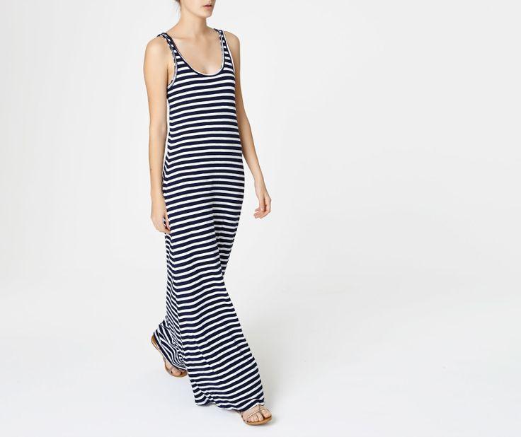 Kleid mit maritimen Streifen - OYSHO
