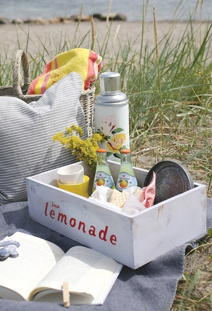 Picnic By The Sea...