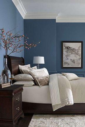 Colore pareti estate 2017 nel 2019 | Camera | Camere da letto blu ...