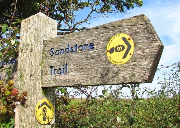 A selection of walks centred around the route of the Sandstone Trail in Cheshire.
