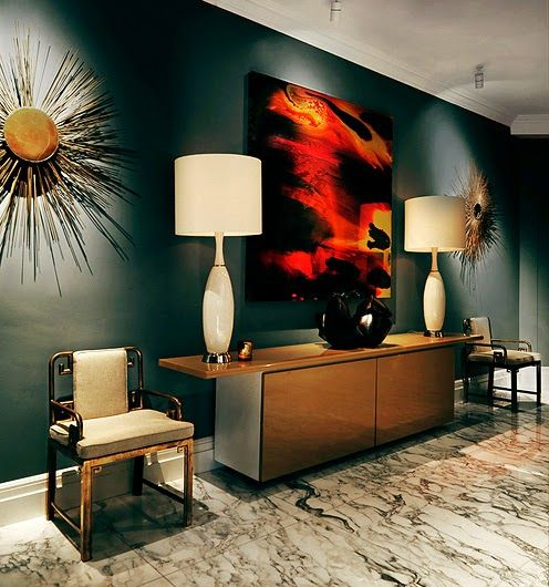 Lujo con reflejos dorados en Londres · Luxury with gilded accents in London