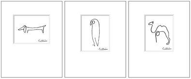 Pablo Picasso Hund Eule Kamel