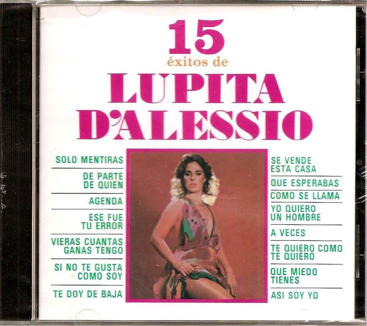 15 Exitos by Lupita d'Alessio (CD, Jul-1997, Orfeon) #Latin
