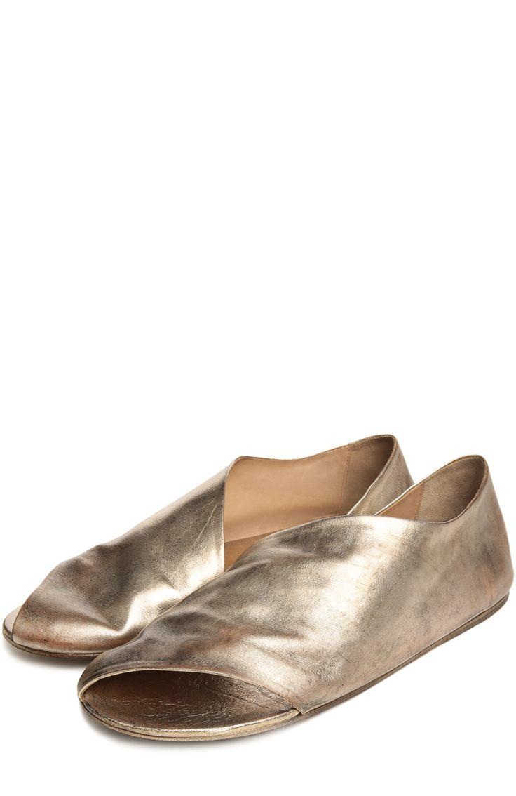 Женские золотые сандалии Marsell, арт. MW1902/H0RSE купить в ЦУМ | Фото №2