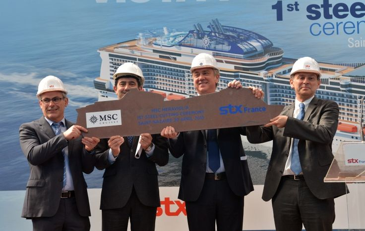 MSC Cruceros construira 7 barcos