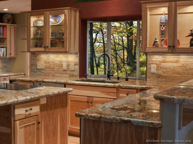 black rustic kitchen cabinets like the granite with the hickory kitchen 4741