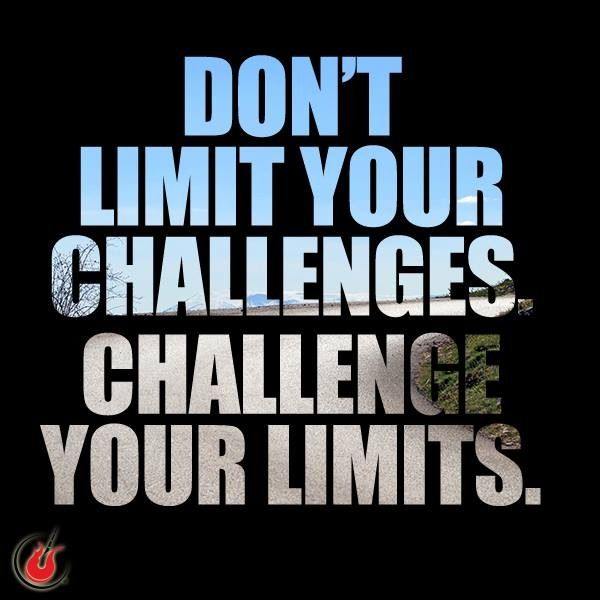 Change It Up and Challenge Your Limits #plateau #challenge #healthy #exercise shrinkingjeans.net