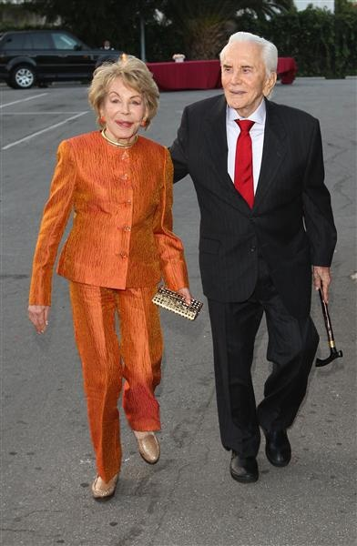 Kirk Douglas and wife Ann