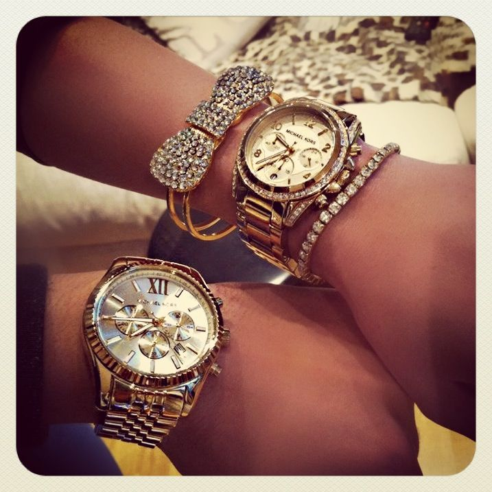 His and hers Michael Kors watch