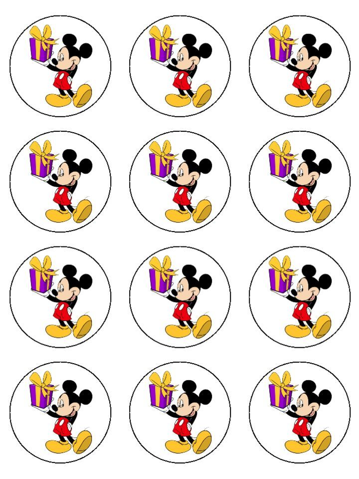 174 best images about Cup Cakes Wrappers! ️ on Pinterest ... Mickey Mouse Cupcake Toppers Printable