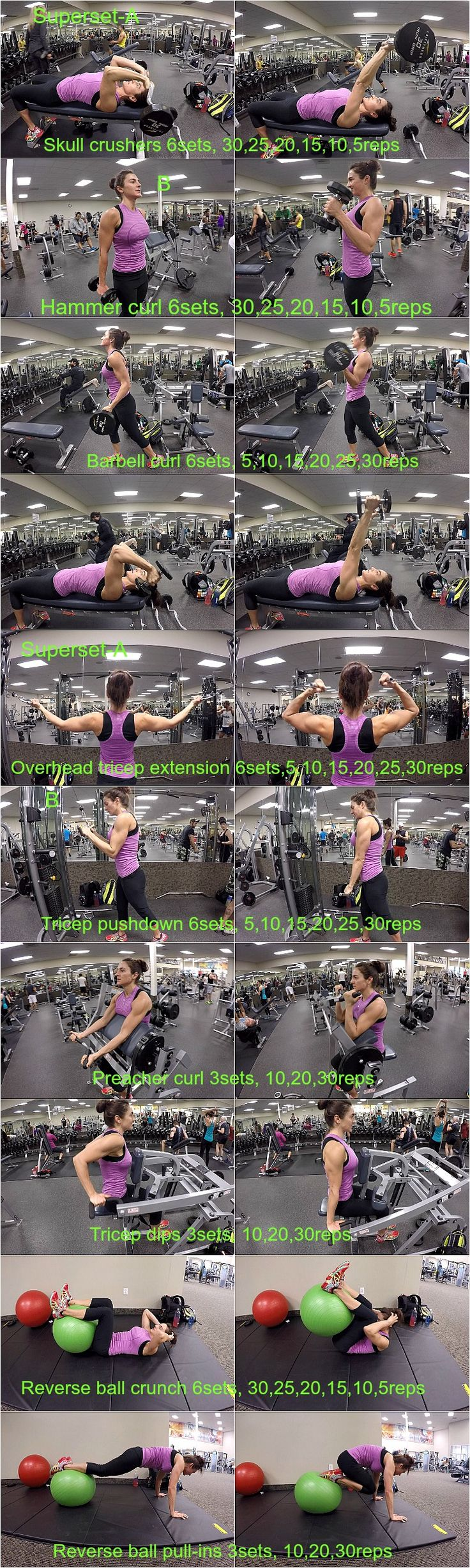 10 WEEKS TO FITNESS-DAY 39: BICEPS/TRICEPS/ABS