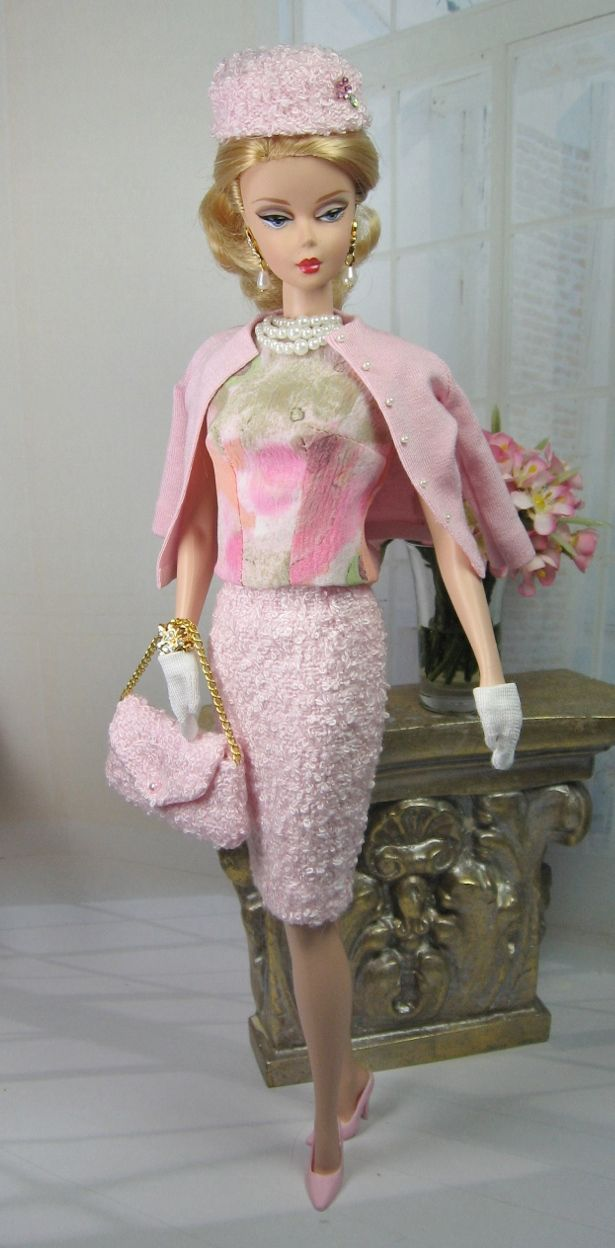 I Believe in Pink for Silkstone Barbie and Victoire Roux | Matisse Fashions