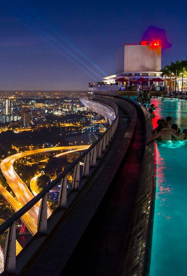 Infinity Pool, Marina Bay Sands Skypark, Singapore