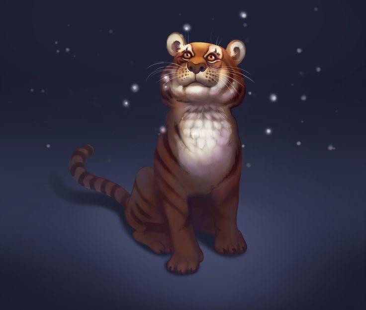 Cool tiger by StephanBored.deviantart.com on @DeviantArt