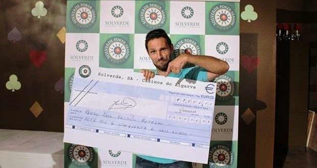 Pedro Luís Botelho venceu o Solverde Poker Season em Vilamoura - Algarlife