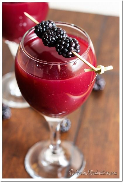 Drink Amp Dish Blackberry Wine Coolers Recipe Coolers
