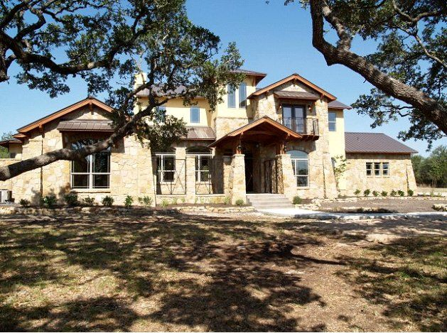 modern hill country house plans