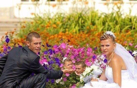 Когда свадебный фотограф владеет фотошопом. А зря! (20 фото)