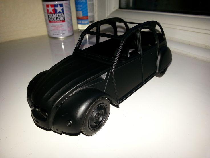 Citroen 2CV 'Black'