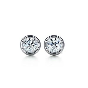 Tiffany  Co outlet Diamonds by the Yard Earrings$37.50