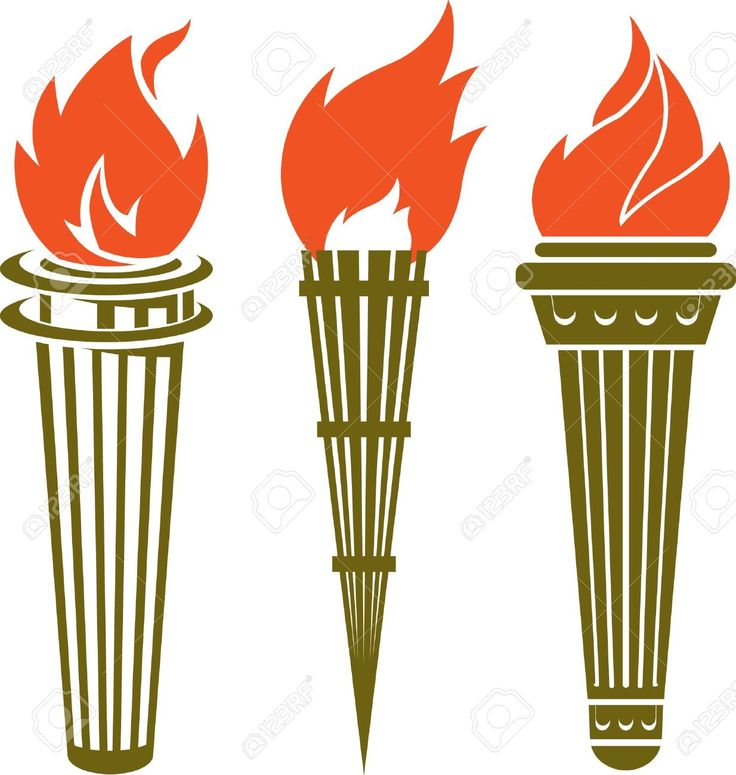 Torch Stock Vector Illustration And Royalty Free Clipart