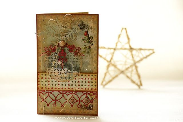 Craft and You Design: A Christmas card/ Świąteczna kartka