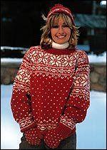 Free Knitting Pattern - Women's Sweaters: Snowflake Sweater