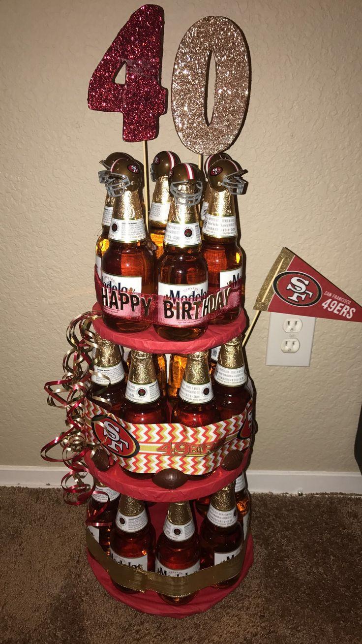 49er beer cake